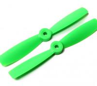 DYS Bull Nose plastique Hélices T5045 (CW / CCW) (vert) (2pcs)
