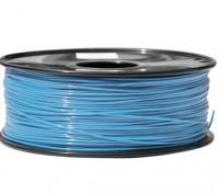 HobbyKing 3D Filament Imprimante 1.75mm PLA 1KG Spool (bleu clair)