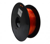 HobbyKing 3D Filament Imprimante 1.75mm flexible 0.8KG Spool (Orange)