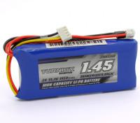 Turnigy 1450mAh 3S 11.1v Transmetteur Lipoly Paquet
