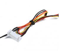 6CELL Flight Pack tension et capteur de température pour le système OrangeRx Télémétrie.