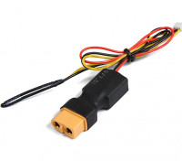 XT60 Inline Flight Pack tension et capteur de température pour le système OrangeRx Télémétrie.
