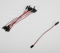 15cm Servo Lead Extention (Futaba) 26AWG (10pcs / set)