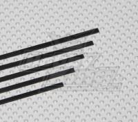 1x6x750mm de bande de carbone (5pcs / set)