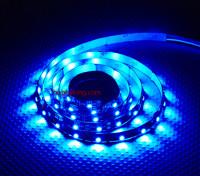 Turnigy haute densité R / C LED Flexible Strip-Bleu (1mtr)