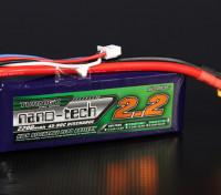Turnigy nano-tech 2200mah 3S 45 ~ 90C Lipo Paquet