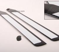 600mm TIG en fibre de carbone Z-Weave principal Lames