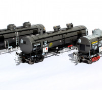 Southern Rail HO Scale VIC/BP VTQF Series 3 Car Oil Tank Set (1992)