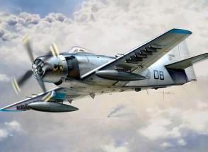 Italeri 1/48 Échelle Kit AD-4 Skyraider Plastic Model