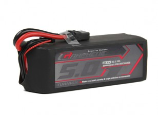 Turnigy Graphene 5000mAh 5S1P 65C Lipo Battery