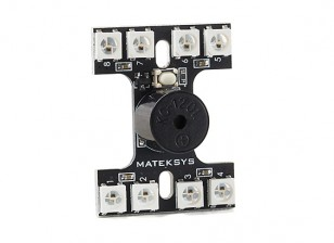 Matek WS2812B Tail Light System with Lost Model Buzzer / Dual Control Mode