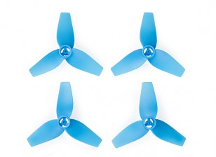Cheerson CX-95S - 3-Blade 40mm Propellers (2xCW, 2xCCW) (Blue)