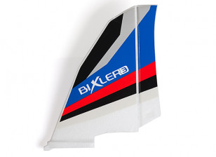 H-King Bixler 3 Glider 1550mm - Replacement Vertical Fin (Blue/Red)