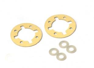 Engrenage différentiel O-Ring Set - 3Racing SAKURA FF 2014