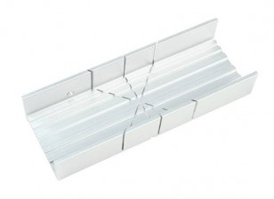 Zona fente large en aluminium Miter Box