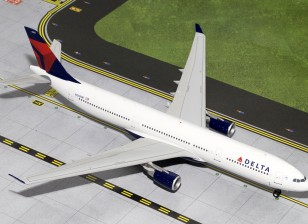 Gemini Jets Delta Airlines Airbus A330-300 N822NW 1:200 Diecast Model G2DAL335