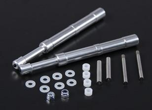 Alloy Oleo Strut 130mm Mains droites pour 60 ~ 90 Classe 2pc