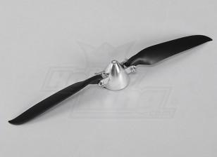 Folding Propeller W / Alloy Hub 40mm / 10x6 Shaft 3mm (1pc)