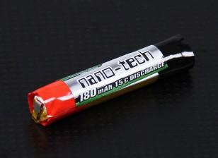 Turnigy nano-tech 180mAh 1S 15c Cellule ronde
