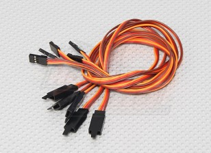 45CM Servo Lead Extention (JR) avec crochet 26AWG (5pcs / bag)