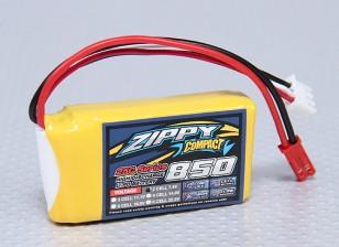 ZIPPY Compact 850mAh 2S 25C Lipo Paquet