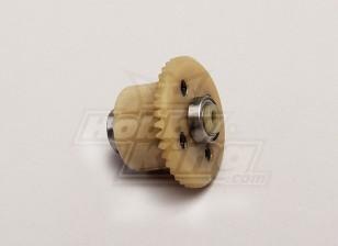 Diff de transmission principale w / Galet (4T moteur à engrenages) - 1/18 4WD RTR On-Road Drift / Short Course