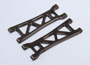 Suspension Arm Set L / R arrière (2pcs / sac) - 1/10 Brushless 2RM Desert Racing Buggy - A2032 et A2033