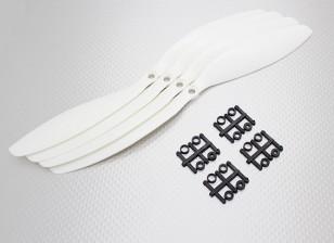 HobbyKing ™ Hélice 11x4.7 White (CCW) (4pcs)