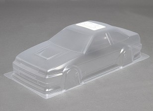 1/10 DR86 Body Shell Unpainted Car w / Stickers