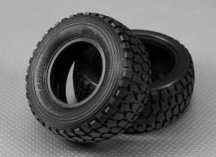 Tire 1/10 Turnigy 4WD brushless Short Course Truck (2pcs / Sac)