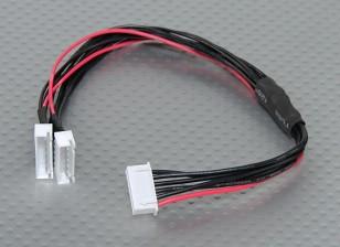 JST-XH Parallel balance Lead 5S 250mm (2xJST-XH)