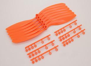 GWS EP hélice (RD-9047 228x119mm) orange (6pcs / set)