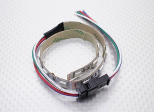 LED rouge, vert, bleu (RVB) 25cm Strip w / Flying Lead