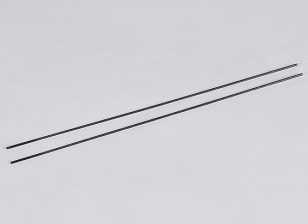 Push métal Rods M2.2xL250mm (2pcs / set)