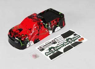 1 10 Quanum Skull Crusher Body (Rouge) - A2032