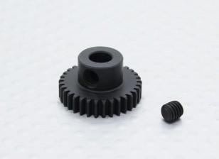 33T / 5mm 48 Emplacement en acier trempé Pignon