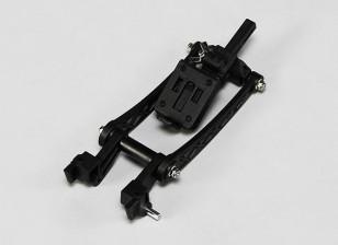 Turnigy 9XR FPV Monitor Arm montage