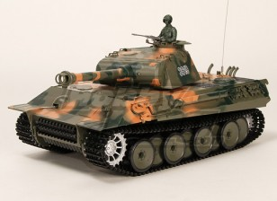 Allemand Panther RC Tank RTR w / Airsoft & Tx