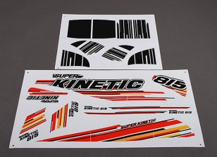 Super Kinetic - Stickers de remplacement (2pcs / set)