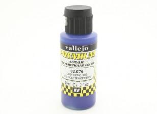 Peinture acrylique de couleur Vallejo Premium - Sucrerie Racing Bleu (60ml)