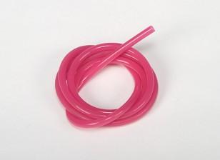 Heavy Duty Silicone Fuel pipe rose (Nitro) (1 mtr)