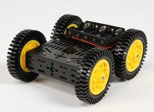 DG012-ATV 4WD (ATV) Kit multi châssis avec quatre pneus en caoutchouc