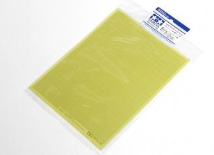 Tamiya Sticker Masking Sheet 1mm Type de grille (5pcs)