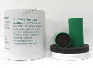 4 Minute vert Cartouches de fumée (5pcs)