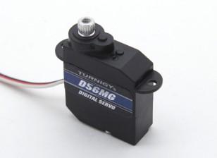 Turnigy ™ GTY-D56MG Coreless DS / MG HV Servo 1,2 kg / 0.10sec / 5,6 g