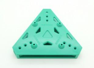 RotorBits Tri-Copter Plaque de montage (vert)
