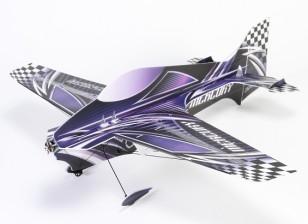 Mercury 3D Flat mousse Depron 900mm w / Moteur (Kit)