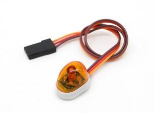 Recovery Vehicle Single LED Light (orange)