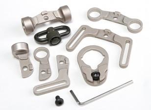 Element EX247 Multi Function kit Sling Swivel pour M4 (TAN)