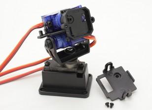Fatshark 3-Axis Pan Tilt and Roll Mount System Caméra (pris en charge par Trinity Head Tracker)